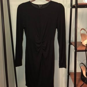 New Look Black Body-Con with Center Knot